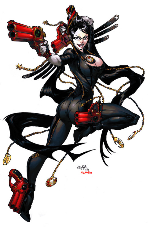 crimsonviper:  Nema's Bayonetta colors by ~kandoken