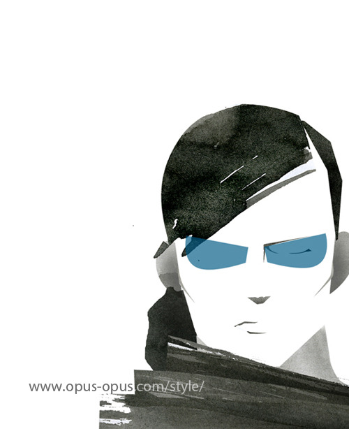 "Now, I'm adding ""Mens Sunglasses"" fashion illustration. I love  sunglasses! It make me cool and colored. But not only for my wearing, I  love to see Man's getting cool sunglasses. Comparing to Lady's one, I think Men's is more sharp, powerful and stylish. (read on..) http://www.opus-opus.com/style/"
