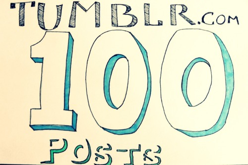 "It's our 100th post today! We were going to start this blog as a ""picture-a-day"" blog, but it soon changed from that.  We started on New years, and I've kept with it for a while now. I've posted many quotes, songs and pictures. From these posts you've gotten to peek in to the mind of BobJoe.  We hope to have many more adventures to report about in the coming weeks, months and years. This is only our first 100, hopefully there will be many more to come in the future, with jet packs.  Thanks for reading."