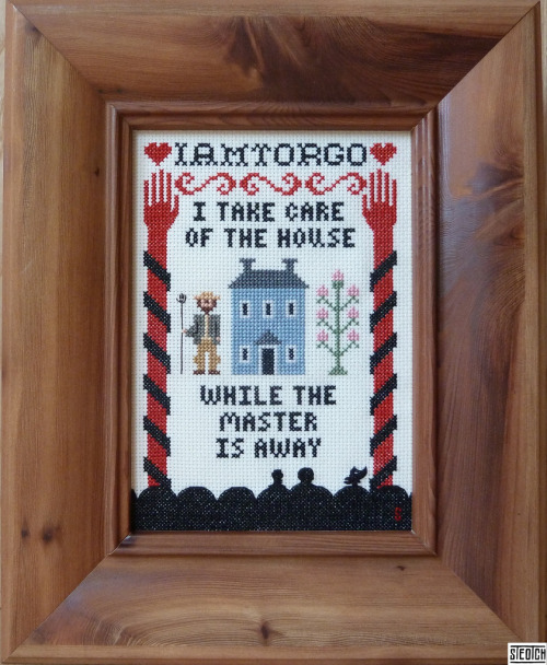 this may be the single greatest cross stitch ever created by a human being but it was actually created by STEOTCH