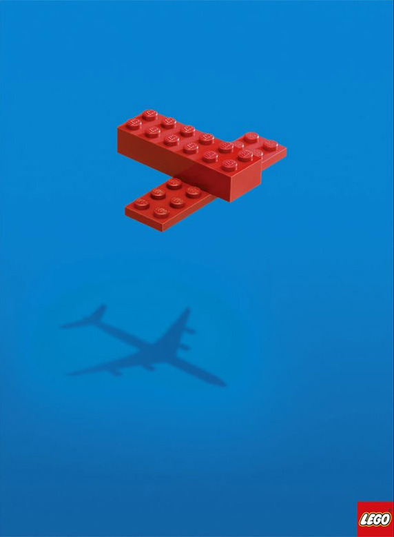 Before there were LEGOs that look like actual things, this is how they worked. From Designspiration