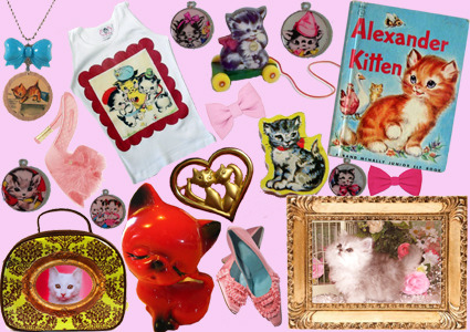 My first attempt at a mood board.. KITTENS!!! how I wish I owned that t shirt!! and everything else on this picture actually!