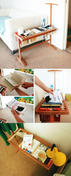 ruey23:  From Table to Bookcase to Bookmark