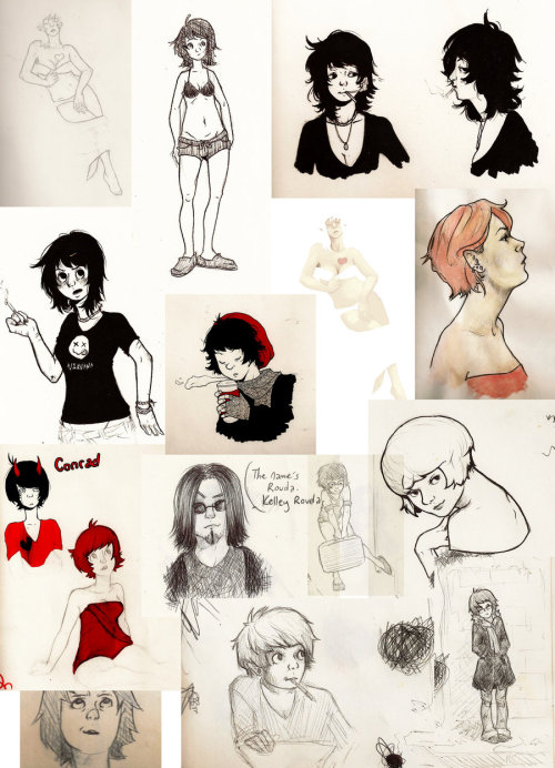 Various from my sketchbook.