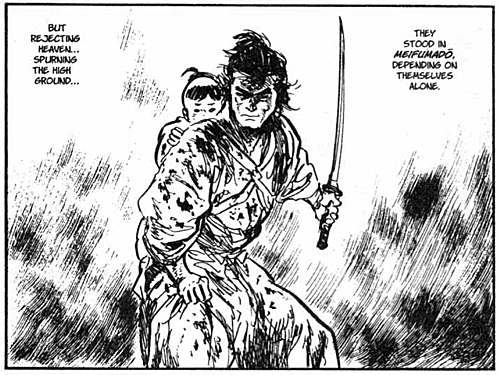 Lone Wolf and Cub - Neven Mrgan's tumbl