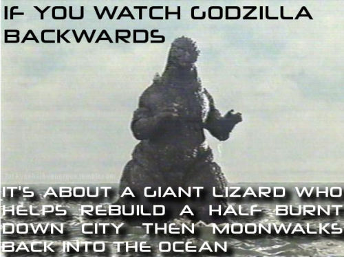 godzillahaiku:Not a haiku, but something to think about.
