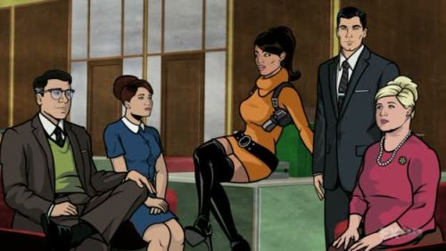Archer, the funniest show on television, is finally back on Netflix Instant. Your mission for the weekend: Watch the entire first season. Re-watch the entire first season. Catch up on the current second season. Cool? Cool. We'll meet back Monday to discuss.