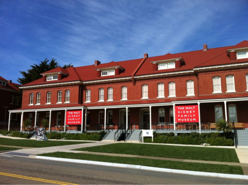 500daysofsergio:  I'm in San Fran visiting the Walt Disney Museum today.