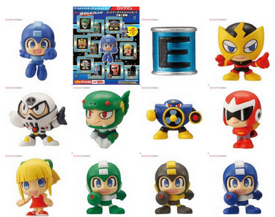 I want these!!!!!!! videogamenostalgia:  Mega Man Minifigures (via: Super Punch)
