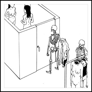 """Fitting room"" by Shintaro Kago"