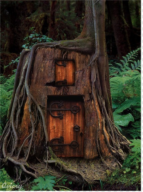 dostuffdecor:  The guest house of my Ultimate Treehouse.