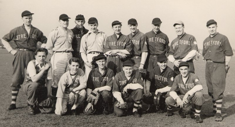 Stretford Baseball Club, 1952.