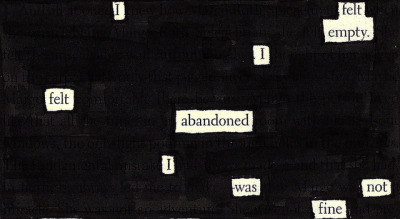 effyeahnerdfighters:  Paper Towns blackout poetry