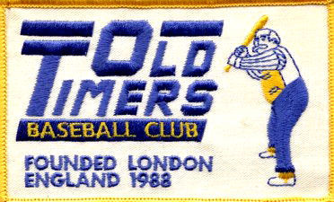 Old Timers Baseball Club.
