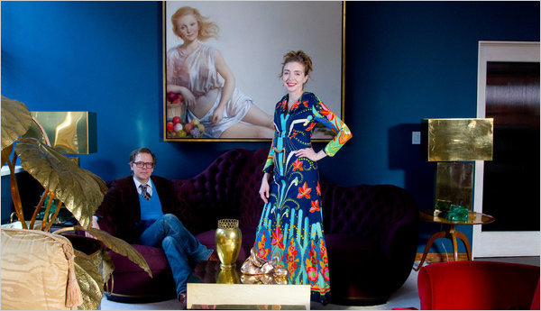 Rachel Feinstein and John Currin (NYT)