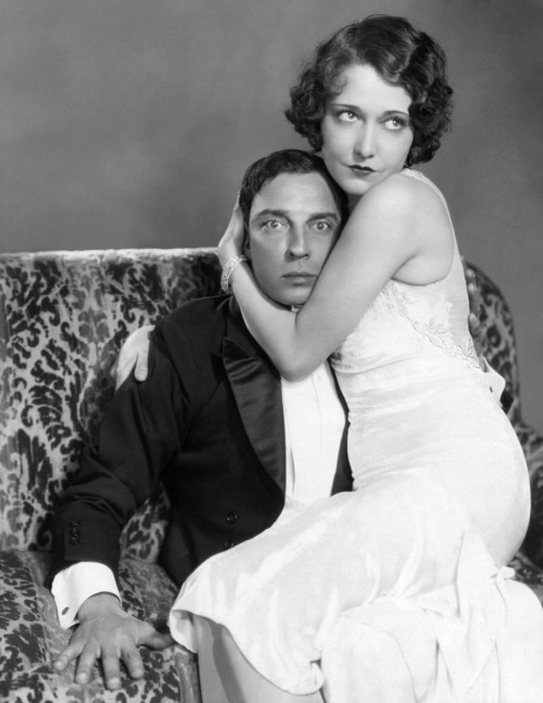 Buster Keaton & Dorothy Sebastian in Spite Marriage (1929)
