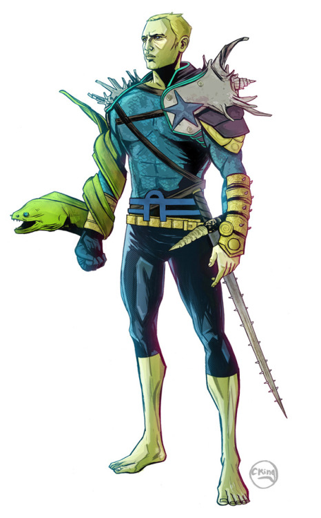 iamalfff:  Aquaman redesign by Chris King   Dear DC Comics…please do this…as soon as possible.