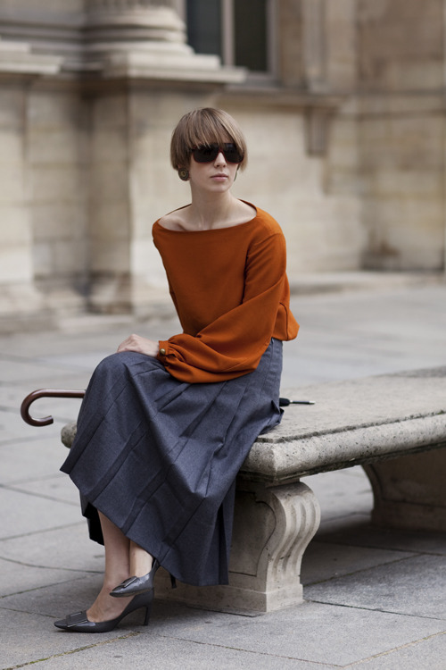 this is slouchy and wonderful. (via the sartorialist)