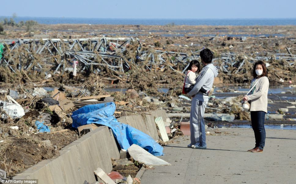 Japan Earthquake Pictures — Epic Devastation, Left Nothing posted by do-nothing | via Daily Mail Online