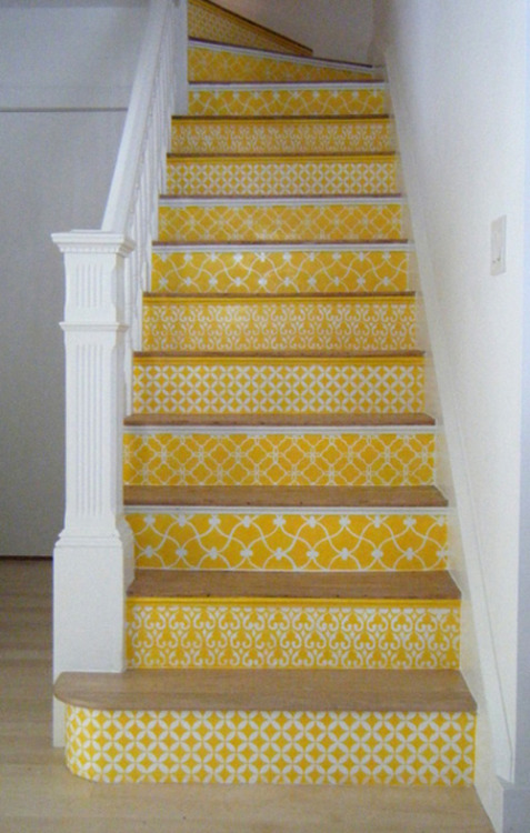 (via stencil staircase | the style files)