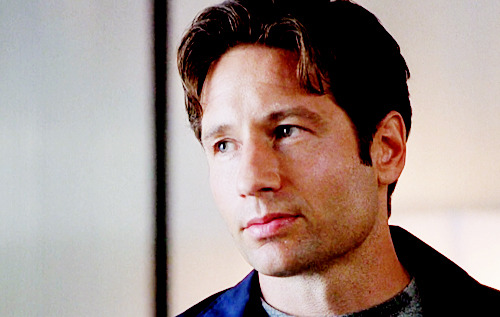 ohwowl0vely:  Mulder: You've never seen me panic. When I panic, I make this face. | Fight The Future