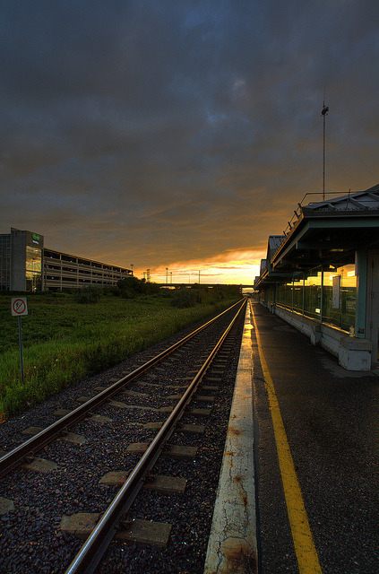 Sunset at the Train Station (by dan cronin.jpg)