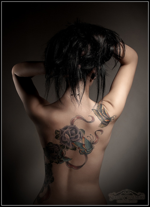 fuckyeahgirlswithtattoos:  my back finnished by Lucy at Intoyou