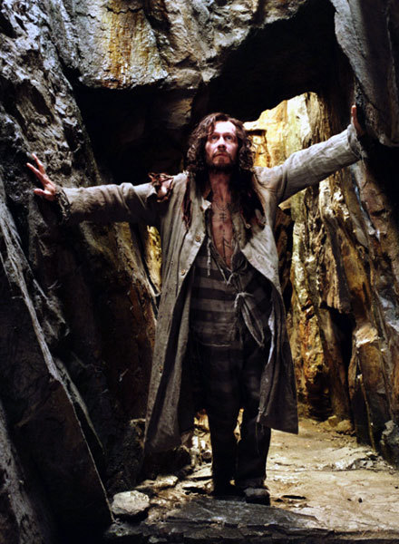 Sirius Black. Famed Marauder, Azkaban escapee, outlaw, lived off rats, animagus, Order of the Phoenix member, Godfather of the Boy-Who-Lived. Killed by drapery.