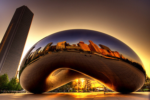 aspiringto:  The Chicago Bean.