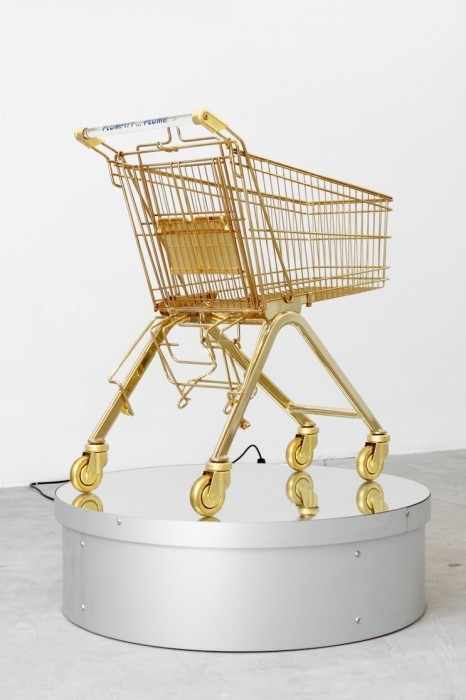 designcloud:  Le Caddy by Sylvie Fleury, 2000  DAMN.