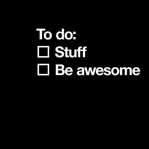 this is my daily checklist