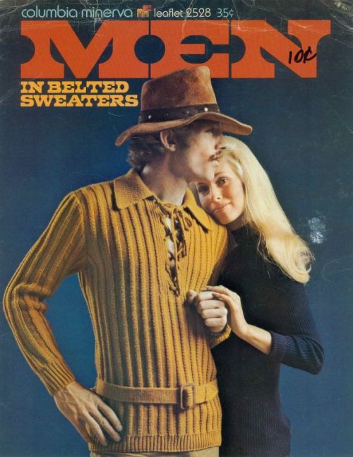 I can't resist a man in a Belted Sweater!