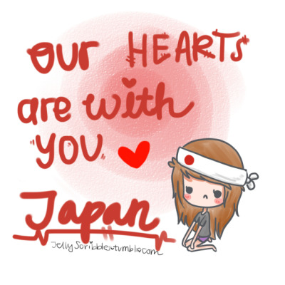 jellyscribbles:  to donate directly to help support japan, click here. dont wana donate directly? buy this from illthreads TODAY ONLY march 13, to donate $5 dollars to the american red cross. dont wana buy a shirt? you can do the simplest thing on tumblr to donate. reblog those post about donating. i dont know if theyre real or not, but what if they are real? heres one donating post i saw recently. you can also text JAPAN to 50555 to donate $10 dollars to globalgiving.org to help japan. nothing here satisfies you? try this. if NOTHING ive included in this message was helpful, find a way. the internet, is huge. dont just sit around, and do nothing.