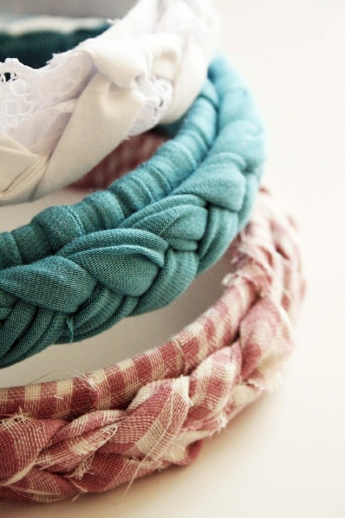 gatherlove:  braided headbands