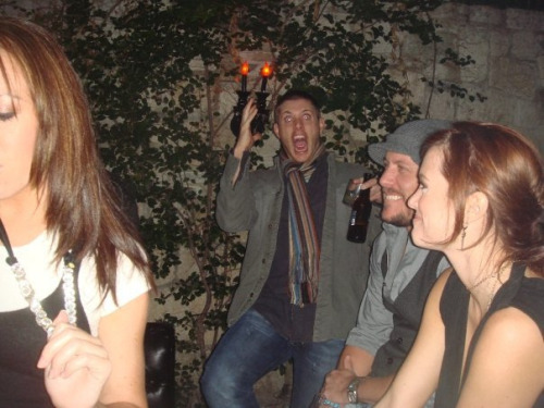 sabriiel:  this is hands down the scariest photo of jensen that ever existed how is this man how jensen what who are you you are not human
