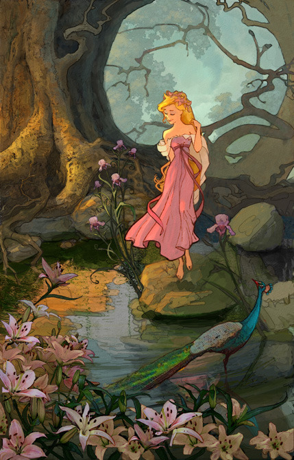 "thedisnerd:  ""But dreams do come true."" + Enchanted (2007) concept art"