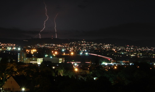 Pietermaritzburg 2 nights ago. Was hoping for that lightning to be closer…