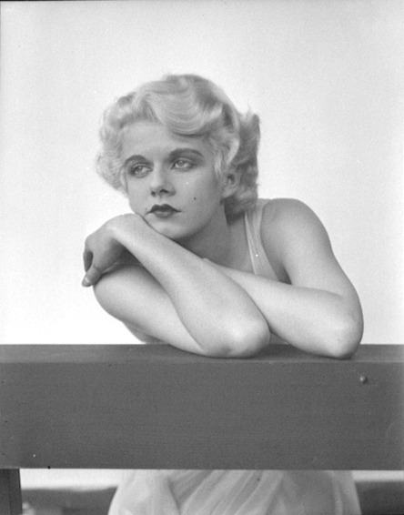 Jean Harlow  ~ William Mortensen  via