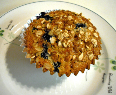 Spelt Muffins with Blueberries and Orange Zest Feeling a little adventurous? Venture on down to the store and pick up some spelt flour. It is an excellent way to incorporate whole grains, iron and protein into your diet. Spelt flour has a nutty flavor and is slightly sweeter than wheat flour.  Spelt is also good source of fiber, protein, niacin, thiamin, iron and magnesium. Combine these benefits with the antioxidant power of blueberries and the nutritional benefits of oats and you have yourself a winner! Ingredients: 1 1/4 cup Rolled Oats1 cup Spelt Flour1 T Baking Powder1/2 tsp Salt1/3 cup Sugar1 T fresh Orange Zest1 Egg1 cup Milk1/4 cup Corn Oil1 cup Blueberries, fresh or frozen Instructions:Preheat oven to 400F. In small bowl, stir together the rolled oats, whole wheat flour, baking powder and salt. In a medium bowl, beat the egg with a fork. Add in milk, sugar, orange zest and vegetable oil.  Fold the dry ingredients into the wet ingredients until barely combined, be careful not to over stir. Gently fold in blueberries, again do not over stir! The batter will be runny. Fill a muffin pan with paper liners or use silicone muffin cups. Divide batter equally among muffin cups, filling about 3/4 full.  Remove muffins from oven and cool on a rack. Enjoy!