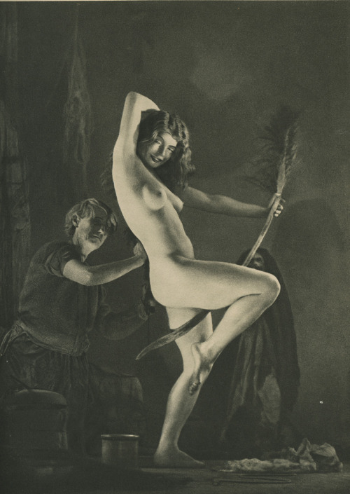 "Preparation for the Sabbot ~ William Mortensen,  ""Herein lies the reason for the equivocal effect of grotesque art on  many people: the material is unfamiliar, and, by ordinary standards,  unpleasant: yet it calls forth a deep instinctive response. Thus they  are torn between repulsion and attraction…"" -- Mortensen   via"