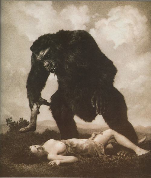 "L'Amour ~ William Mortensen, ""SEX is of  course the subject interest, which is here given additional morbid  pungency by the sadistic implications of the theme."" — Mortensen"