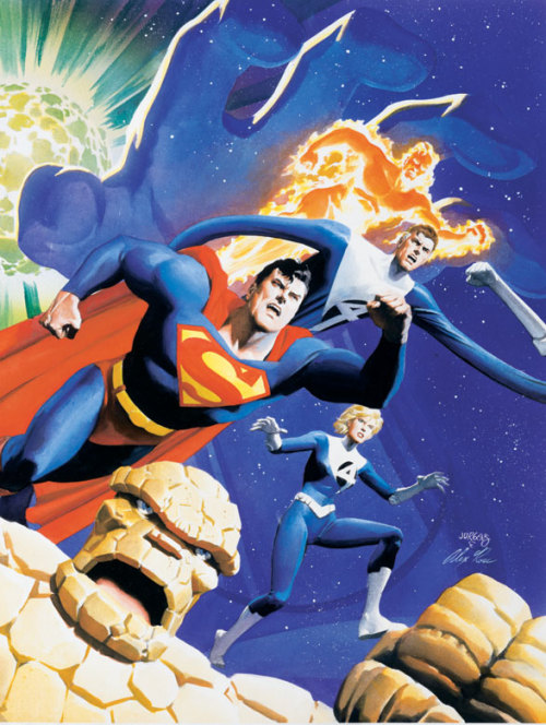 Superman and Fantasic Four - The Infinite Destruction