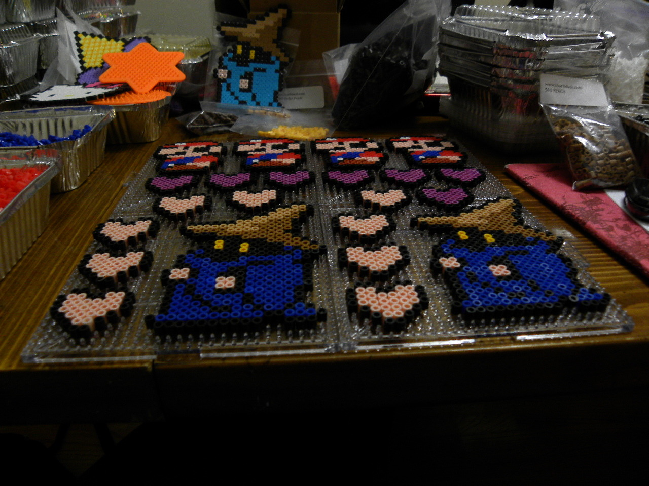 An inside look at us working on our stuff for Springfest 2011! As you can see, we make everything in bulk :D