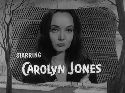 Addams Family(1964) Carolyn Jones