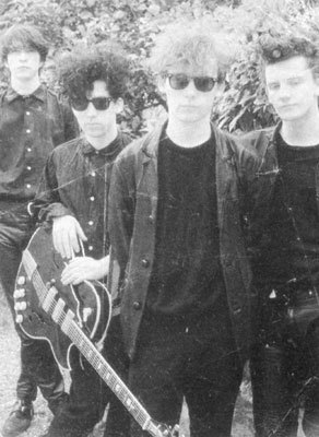 "The Jesus and Mary Chain / Portugal / April 1985 / ""You Trip Me Up"" video shoot"