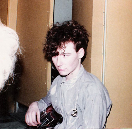 Jim Reid / The Jesus and Mary Chain / Brighton, UK / 1985