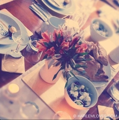 The Interior: Feels like Spring! (Dinner Table Decoration) | HARLEM LOVES on we heart it / visual bookmark #7926519