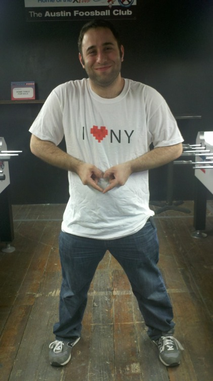 The NY Startup scene is blowing up! Here's the official #sxsw shirt!