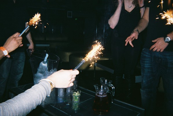 Sparklers at Penthouse, Trafalgar Square