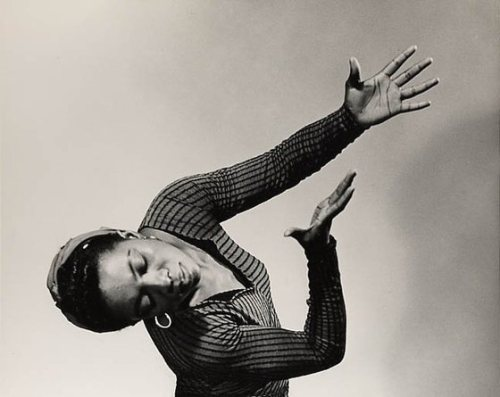 "Dancer, choreographer and scholar Pearl Primus. Born in Port of Spain, Trinidad in 1919, she did not begin dancing until she was a pre-med student in New York City, where she earned a bachelor's degree in biology from Hunter College and a Ph.D in anthropology and sociology from New York University. Primus was known for weaving history and social commentary into her dances, especially ""Strange Fruit"" and ""The Negro Speaks of Rivers."""